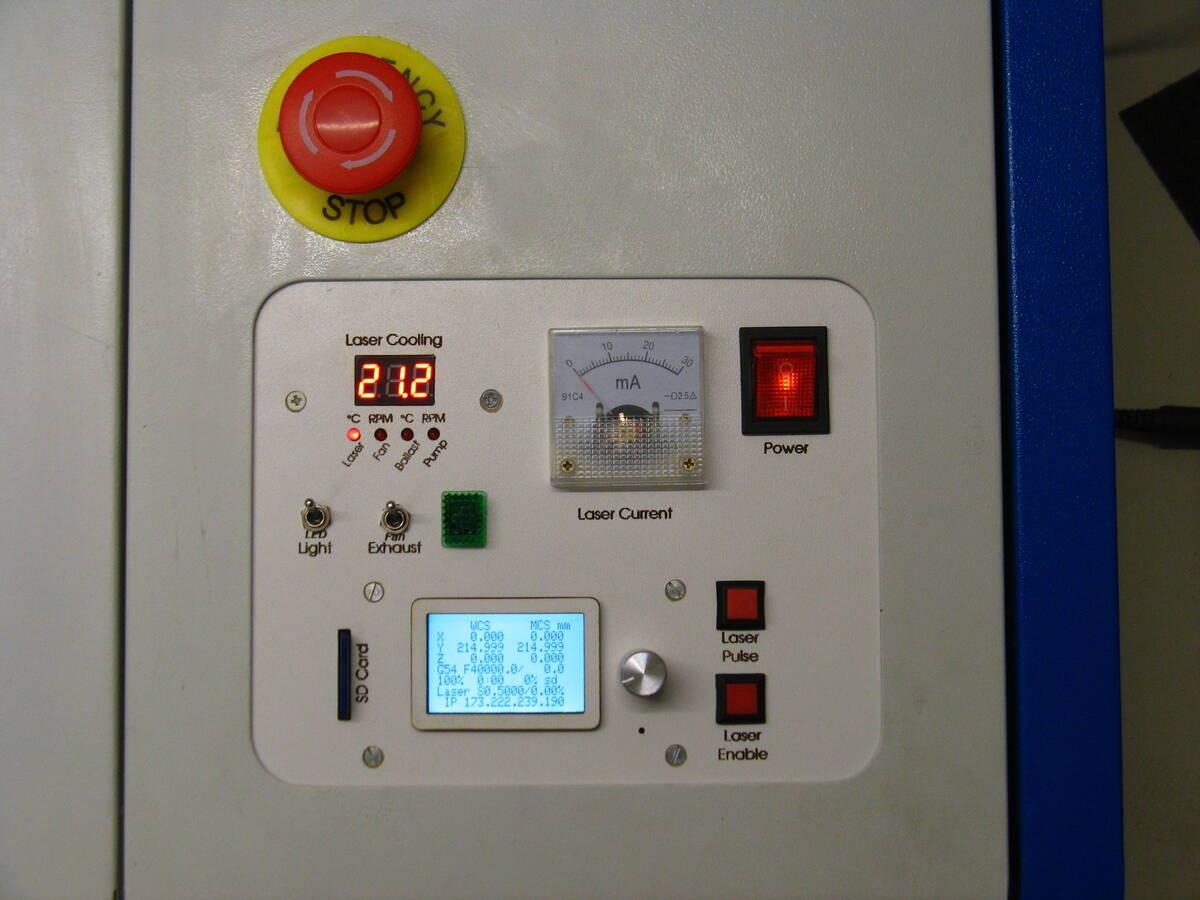 Umbau Laser Cutter   Odenwilusenz